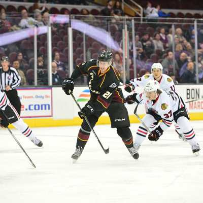 Cleveland Monsters v. Rochester Americans