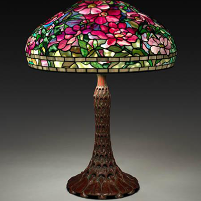 Tiffany in Bloom: Stained Glass Lamps by Louis Comfort Tiffany