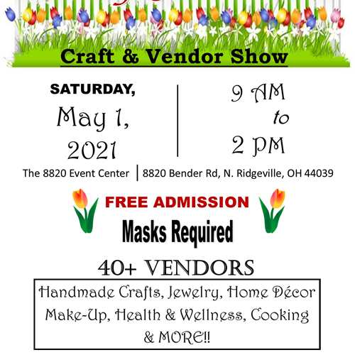 May Flowers Craft & Vendor Show