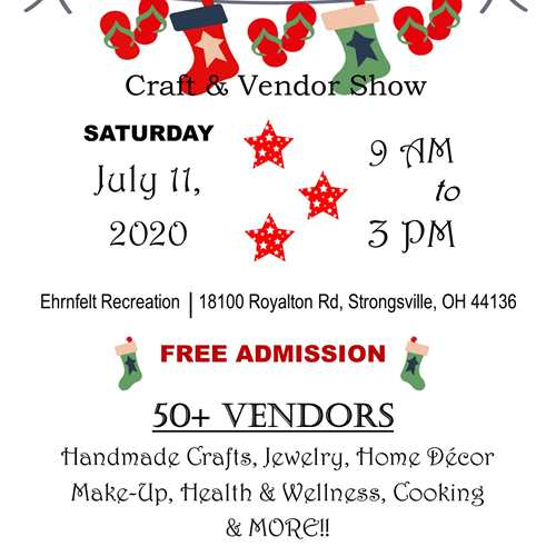 Christmas in July Craft & Vendor Show