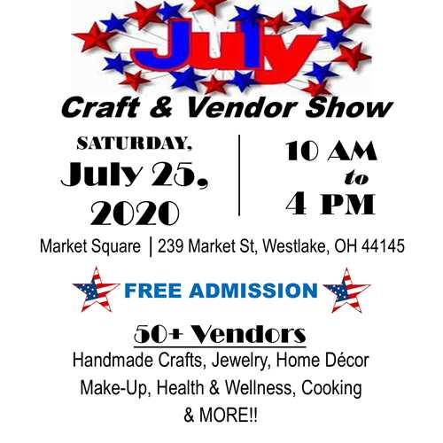 Crocker Park July Craft & Vendor Show
