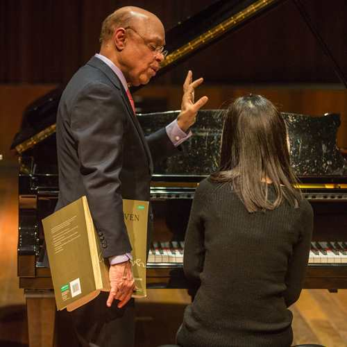 Lake Como Residency: Guest Master Class: William Grant Naboré, piano