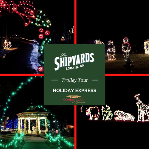 The Shipyards Holiday Express - Trolley Lights Tour