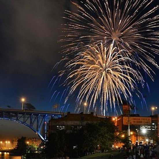 Fourth of July in Downtown CLE