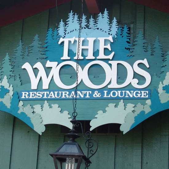 The Woods Restaurant & Lounge / Behind The Woods